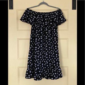 Merona Black and White Polka Dot Dress